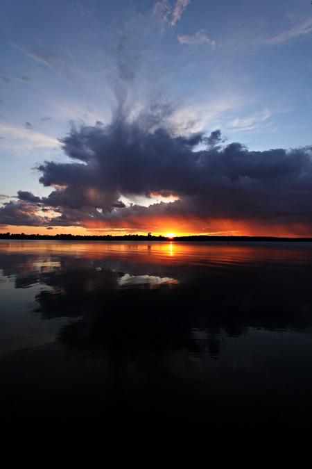 Rice Lake Sunset